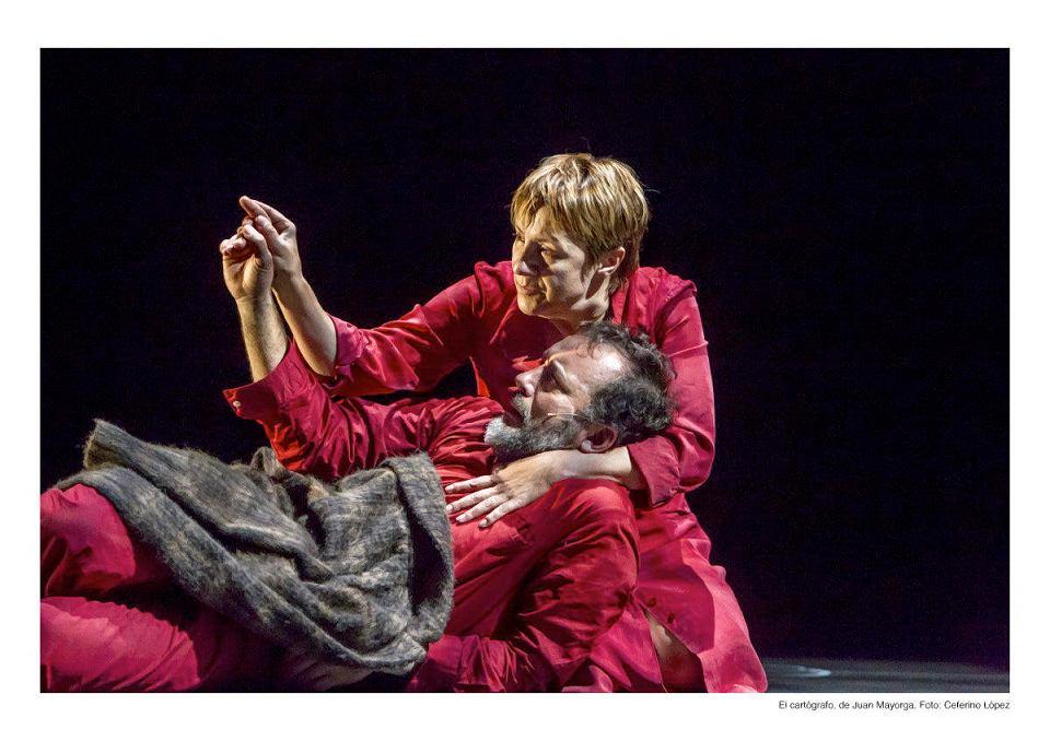 Blanca Portillo i José Luis Garcia- Pérez zagrają w niedzielę w Teatrze Kwadrat w przedstawieniu 'Kartograf'