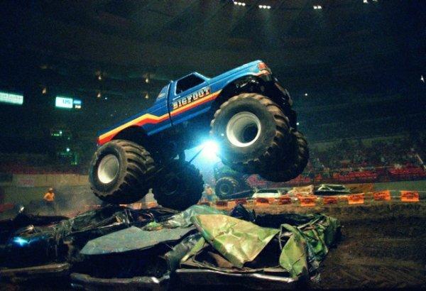 Zawody monster truck w Nowym Jorku, 1991 r.