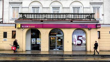 Oddział Alior Banku przy pl. Zamkowym w Lublinie.