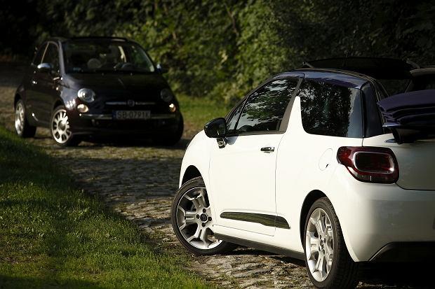 Citroen DS3 Cabrio i Fiat 500C