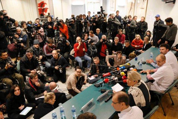 Wypadek Michaela Schumachera. Dziennikarz przebrany za księdza próbował wejść do szpitalnej sali