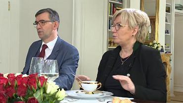 Ambasador RP w Berlinie Andrzej Przyłębski i prezes TK Julia Przyłębska
