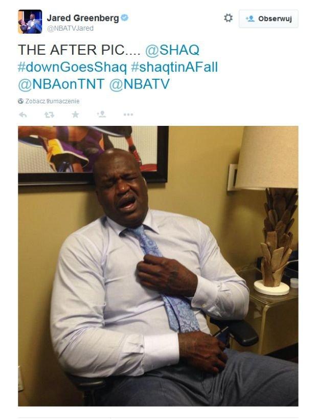 Shaq po upadku