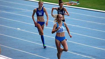 Alicja Potasznik (z nr 23) podczas mistrzostw Polski w Radomiu