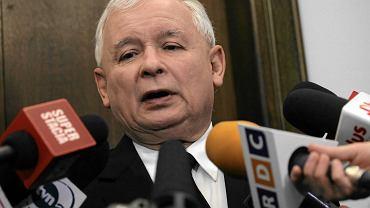 Prezes PiS Jarosław Kaczynski