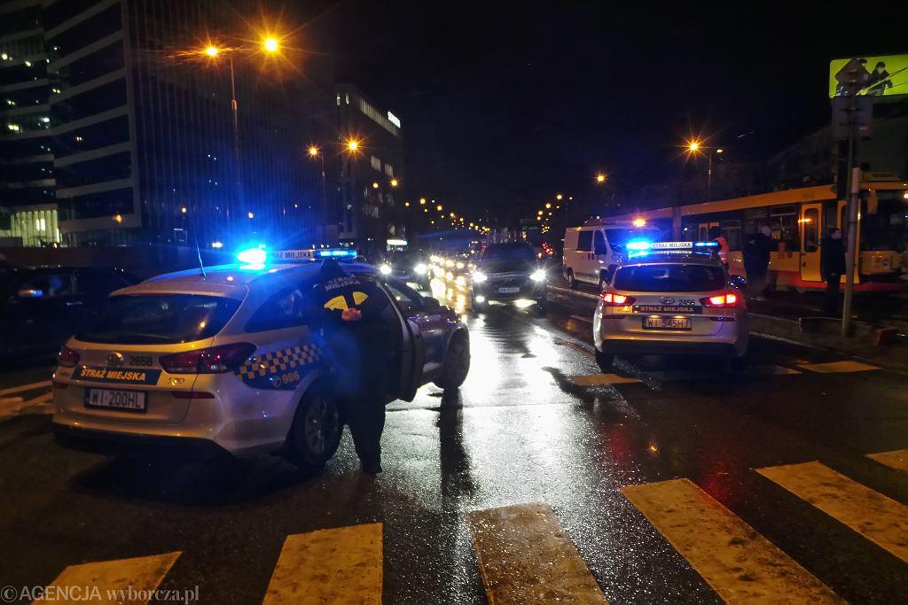 Wypadek z udziałem tramwaju (zdjęcie ilustracyjne)