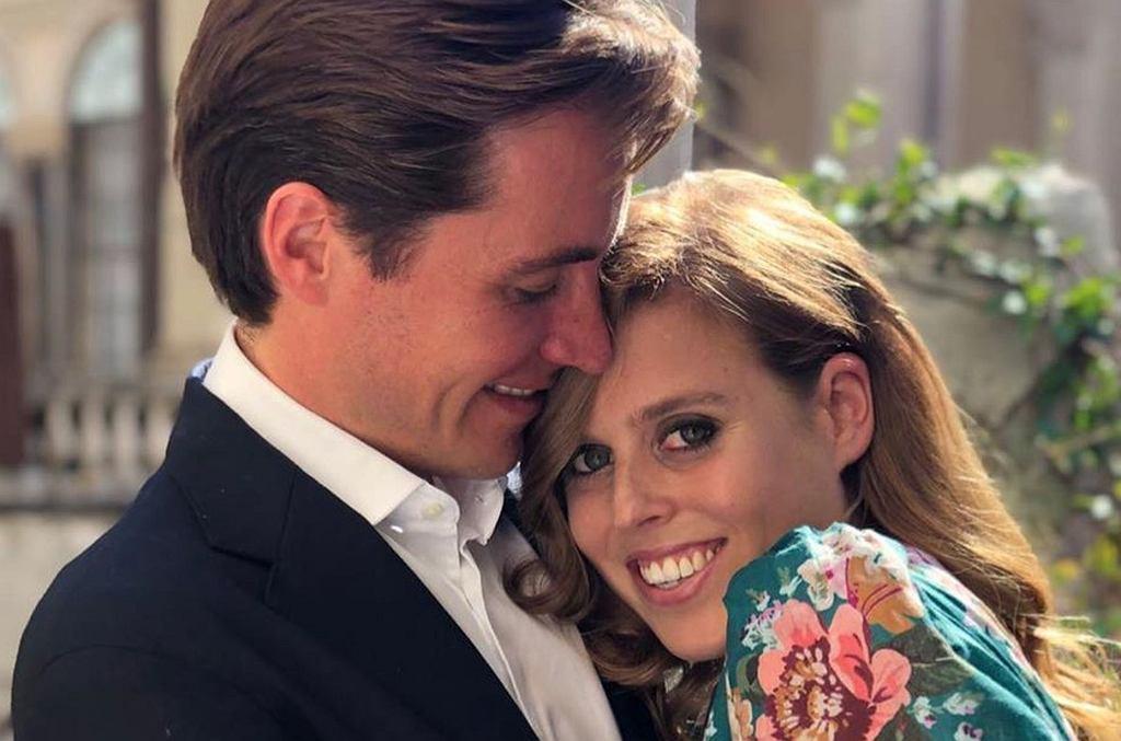 Księżniczka Beatrice i Edoardo Mapelli Mozzi zaręczeni