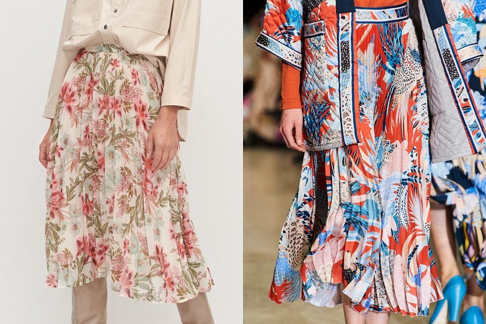 Sukienki w kwiaty na jesień