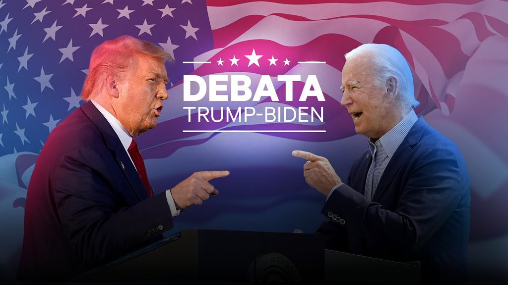 Debata Biden vs. Trump. Gazeta.pl zaprasza na relację!