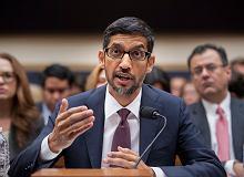 Sundar Pichai, CEO Google tłumaczył się w senacie USA