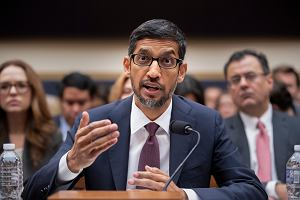 CEO Google przed senatem USA: iPhone jest produkowany przez inną firmę