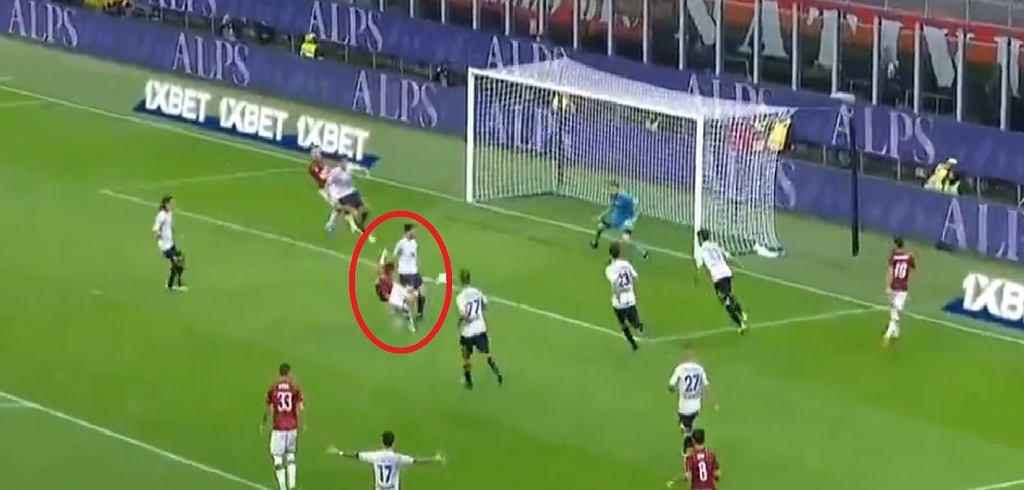 Krzysztof Piątek strzelił gola w meczu z Lecce