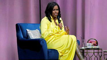 19.12.2018, Nowy Jork, Michelle Obama na spotkaniu promującym jej autobiografię.