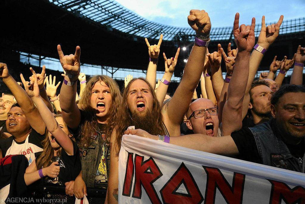 3 lipca, koncert zespołu Iron Maiden