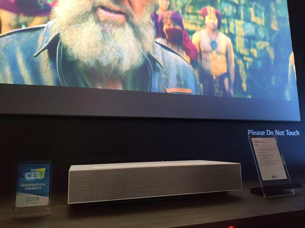 LG CineBeam Laser 4K.