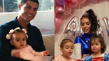 Cristiano Ronaldo świętuje 2. urodziny córki