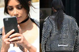 Kolejny dzień, kolejna okropna stylizacja Kim Kardashian. Tym razem przeszła jednak samą siebie. Celebrytka założyła spodenki kolarza, które przypominały bieliznę wyszczuplającą, Efekt? Jest gorzej niż myślicie.