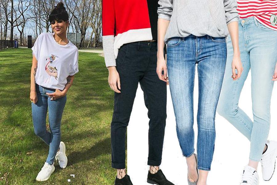 Kolaż, spodnie jeansowe/Materiały partnera