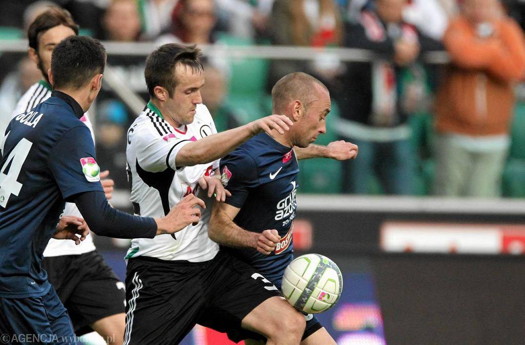 Miroslav Radović podczas meczu Legia - Pogoń (3:1)