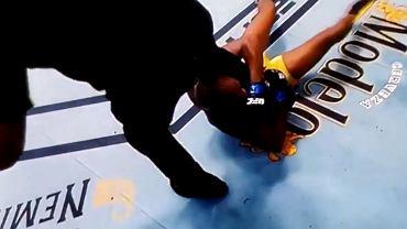 Walka Halla z Silvą na gali UFC