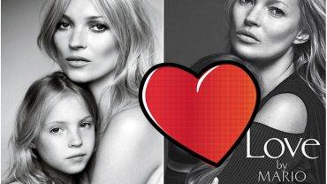 """Lila Grace Moss Hack i Kate Moss dla """"Vogue"""" - w 2011 i w 2016 r."""