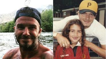 David Beckham z fanką