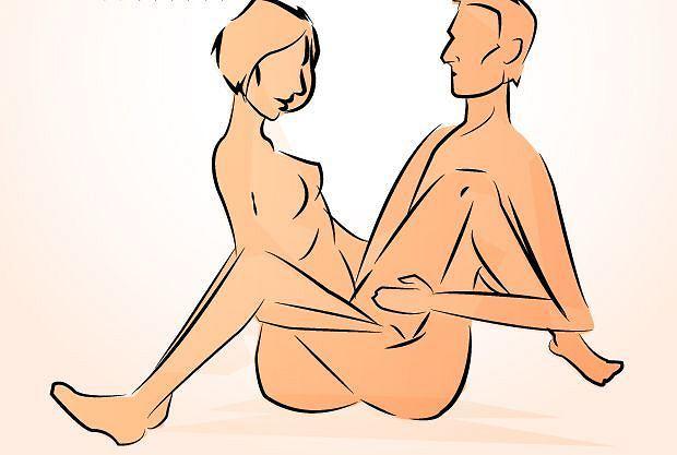 Pozycja seksualna fotel zaplątany należy do pozycji lubianych przez kobiety