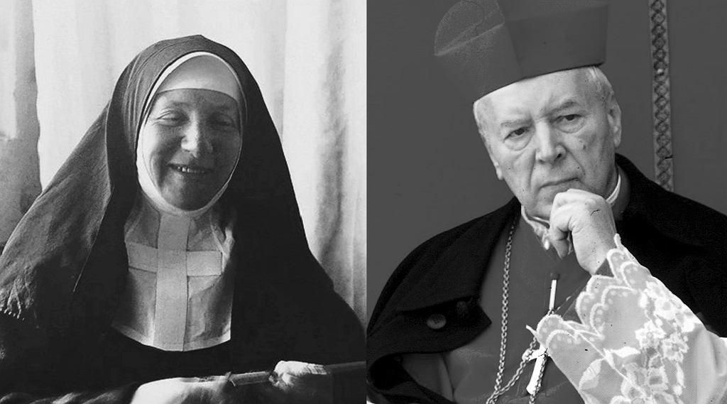 Siostra Róża Szacka, założycielka zakładu dla ociemniałych w Laskach, i kardynał Stefan Wyszyński. W niedzielę 12 września odbędzie się w Warszawie ich beatyfikacja.