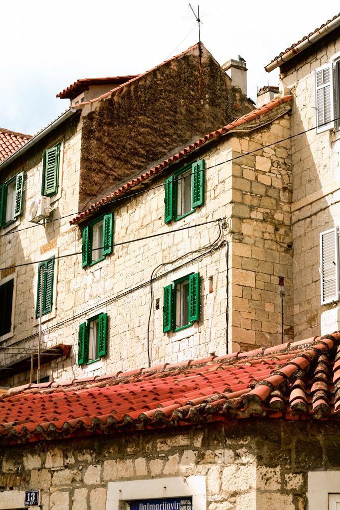 Domy w zabytkowej części Splitu