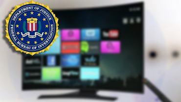 FBI ostrzega i radzi jak bezpiecznie korzystać ze smart TV. Dobrze jest zakleić obiektyw czarną taśmą