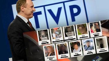 TVP ujawniła wizerunek osób biorących udział w proteście pod TVP