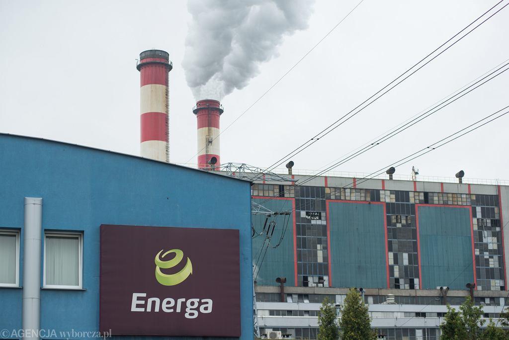 Elektrownia Ostrołęka należąca do koncernu Energa.