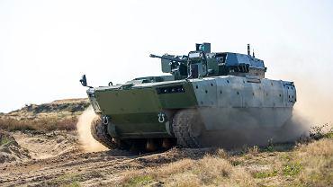 Próby nowego polskiego bojowego wozu piechoty Borsuk