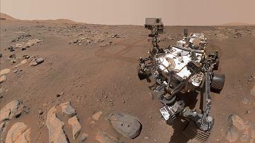 Łazik Perseverance przesłał piękne selfie z Marsa. Naukowcy złożyli je z 57 zdjęć