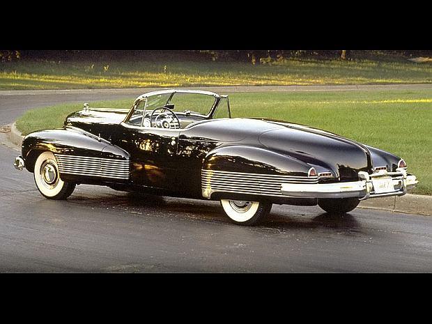 Elementy stylistyczne Buicka były wykorzystywane aż do późnych lat 50-tych