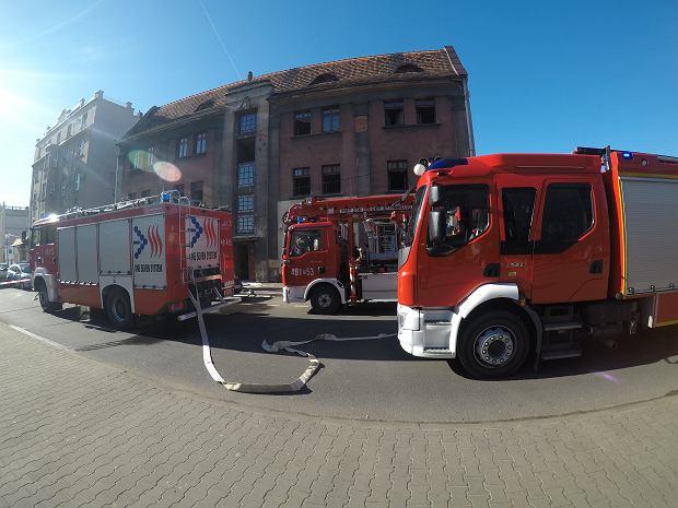 Pożar wózka dziecięcego w Krotoszynie