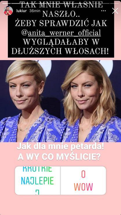 Anita Werner po zmianie Łukasza Urbańskiego