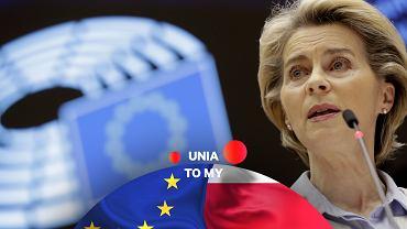 Szefowa Komisji Europejskiej Ursula von der Leyen.