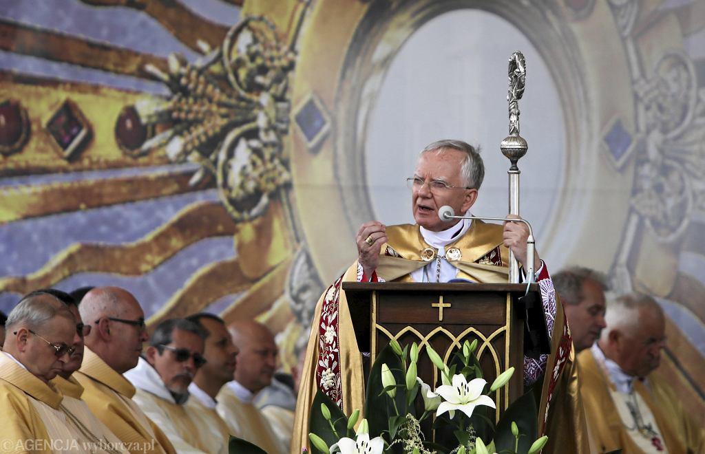 Arcybiskup Marek Jędraszewski.