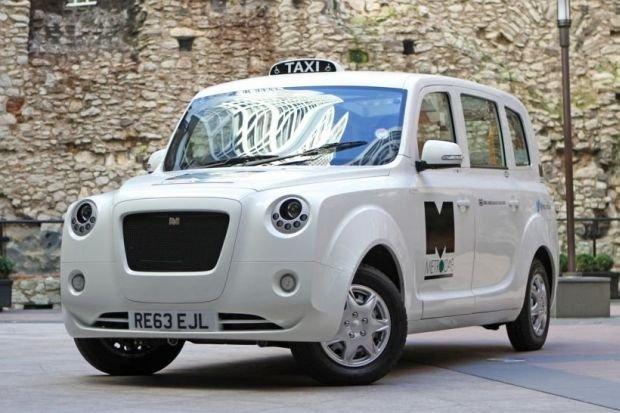 Frazer-Nash Metrocab - propozycja elektrycznej taksówki dla Londynu