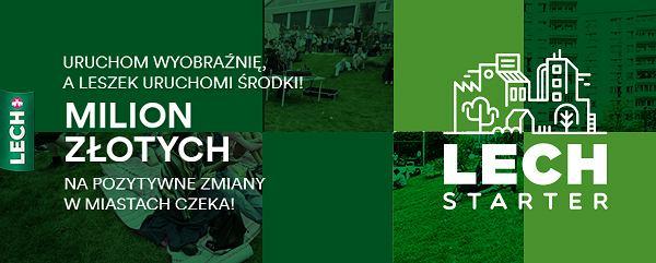 Lechstarter / mat. promocyjne, Lechstarter