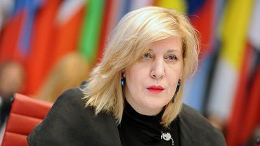 Dunja Mijatović, komisarz praw człowieka Rady Europy