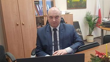 Starosta opatowski Tomasz Staniek