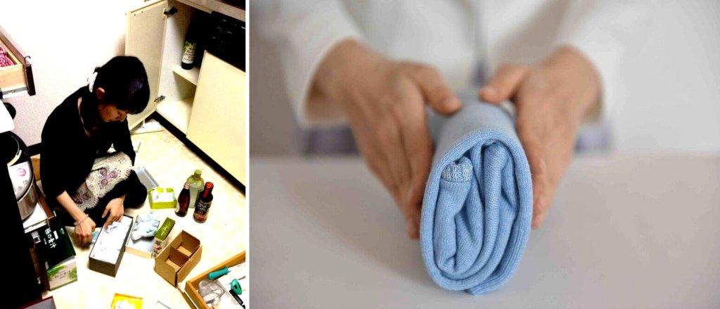 Jedno generalne sprzątanie mieszkania pozwala utrzymać porządek na długi czas (fot. facebook.com/konmarimethod)