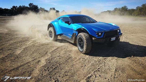 Laffite G-Tec X-Road to Ferrari na pustynię. Ma silnik V8 z Chevroleta Corvette