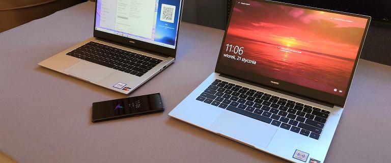 Huawei prezentuje dwa nowe laptopy w przystępnych cenach