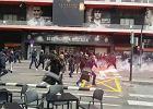 Dantejskie sceny przed hitem Valencia - Barcelona. Starcie radykalnych grup