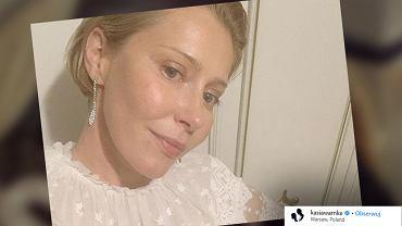 Katarzyna Warnke została spytana o in vitro.