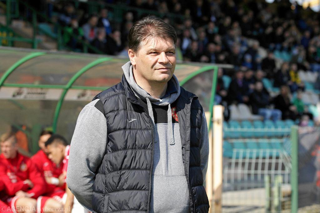 Górnik Łęczna - Widzew Łódź 0:0. Trener łodzian Robert Mroczkowski