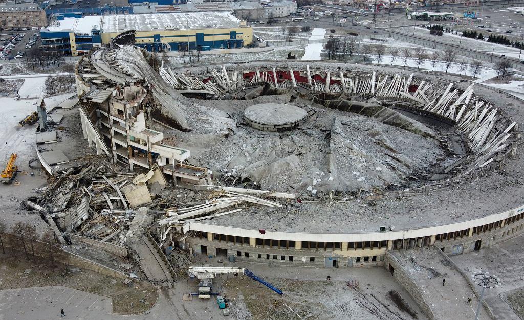 Zawalił się Kompleks Sportowo-Koncertowy w Petersburgu